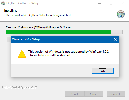 Windows 10 Not Supported