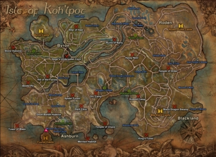 Maps (R2O) :: Wiki :: EverQuest :: ZAM