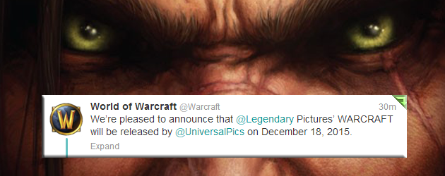 official warcraft movie release date announced world of warcraft