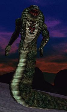 a Shissar Stalker from EverQuest.