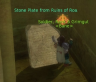 Stone Plate from Ruins of Roah