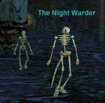 the night warder :: bestiary :: everquest :: zam, Skeleton