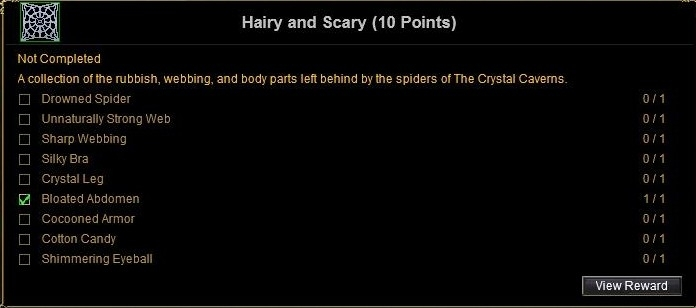 Hairy and Scary