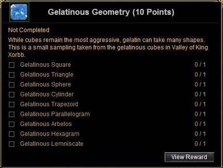 gelatinous geometry