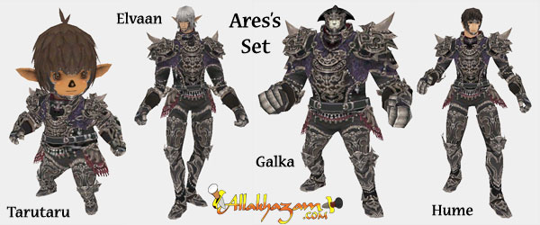 The complete Aresu0027s set on males & Salvage Set - Aresu0027 Armor :: Quests :: Final Fantasy XI :: ZAM