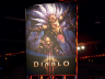 Diablo III Banner on the show floor