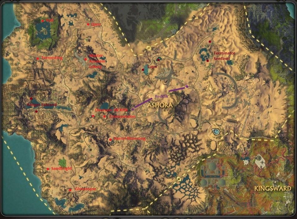 Rare Locations in Ashora