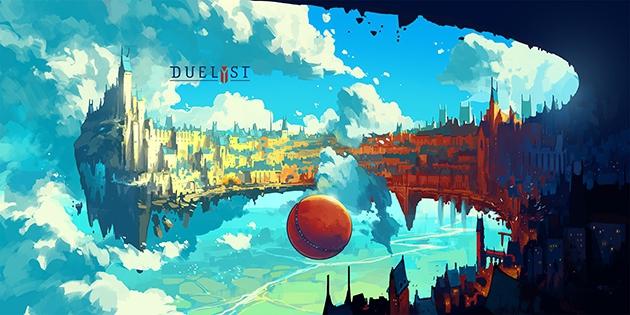 <em>Duelyst</em> Concept Art