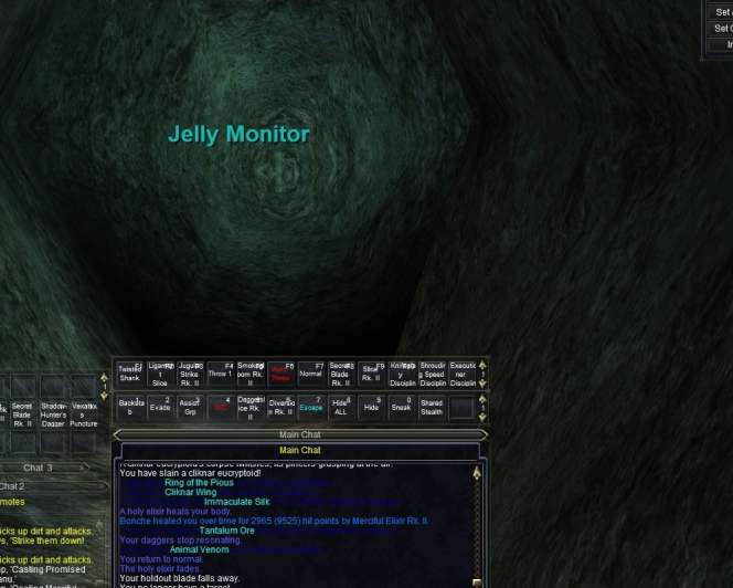 Jelly Monitor in Arthicrex?
