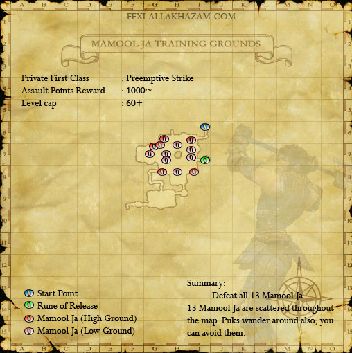 Mamool Ja Training Grounds - Preemptive Strike :: Quests :: Final