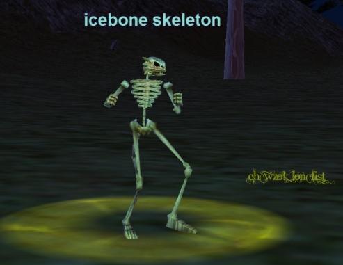 icebone skeleton :: bestiary :: everquest :: zam, Skeleton