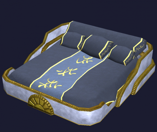 Vigilant Double Bed Final Fantasy Xiv Ffxiv Ff14 Zam