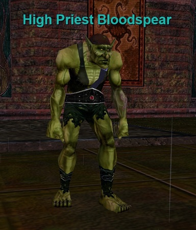 High Priest Bloodspear :: Bestiary :: EverQuest :: ZAM