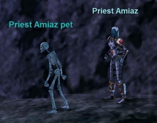 Priest Amiaz Bestiary Everquest Zam