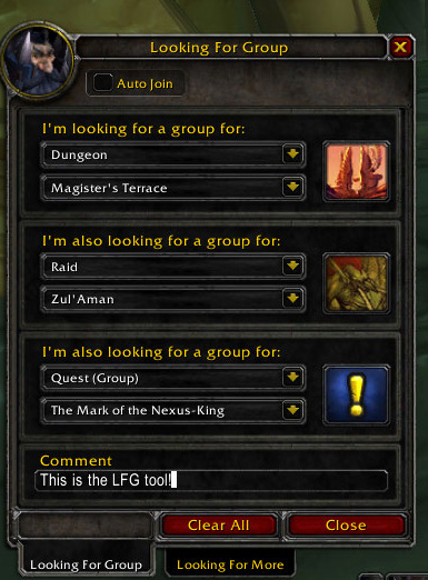 LFG Interface