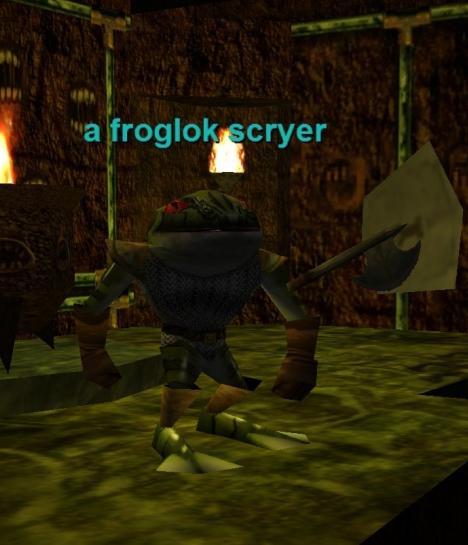 a froglok scryer :: Bestiary :: EverQuest :: ZAM