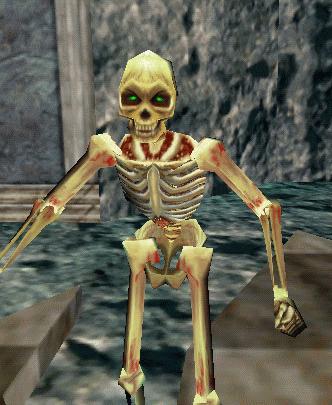 an elf skeleton :: bestiary :: everquest :: zam, Skeleton