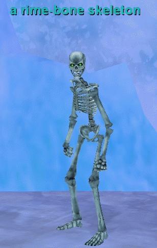 a rime-bone skeleton :: bestiary :: everquest :: zam, Skeleton