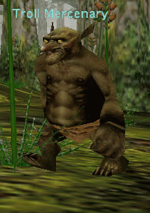Troll Mercenary :: Bestiary :: EverQuest :: ZAM