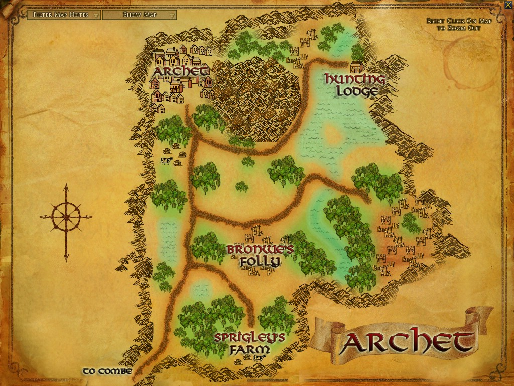 Archet :: Zones :: Lord of the Rings Online :: ZAM