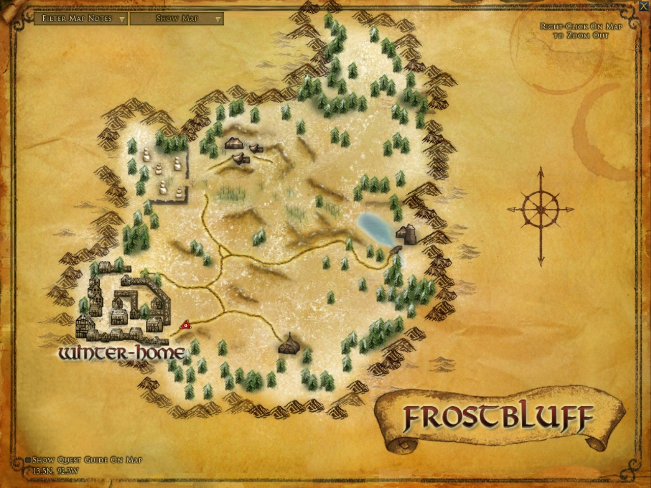 Frostbluff :: Zones :: Lord of the Rings Online :: ZAM