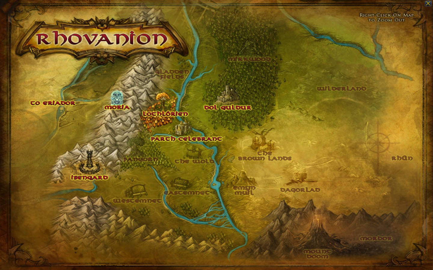 Emyn Muil Areas Lord Of The Rings Online Zam