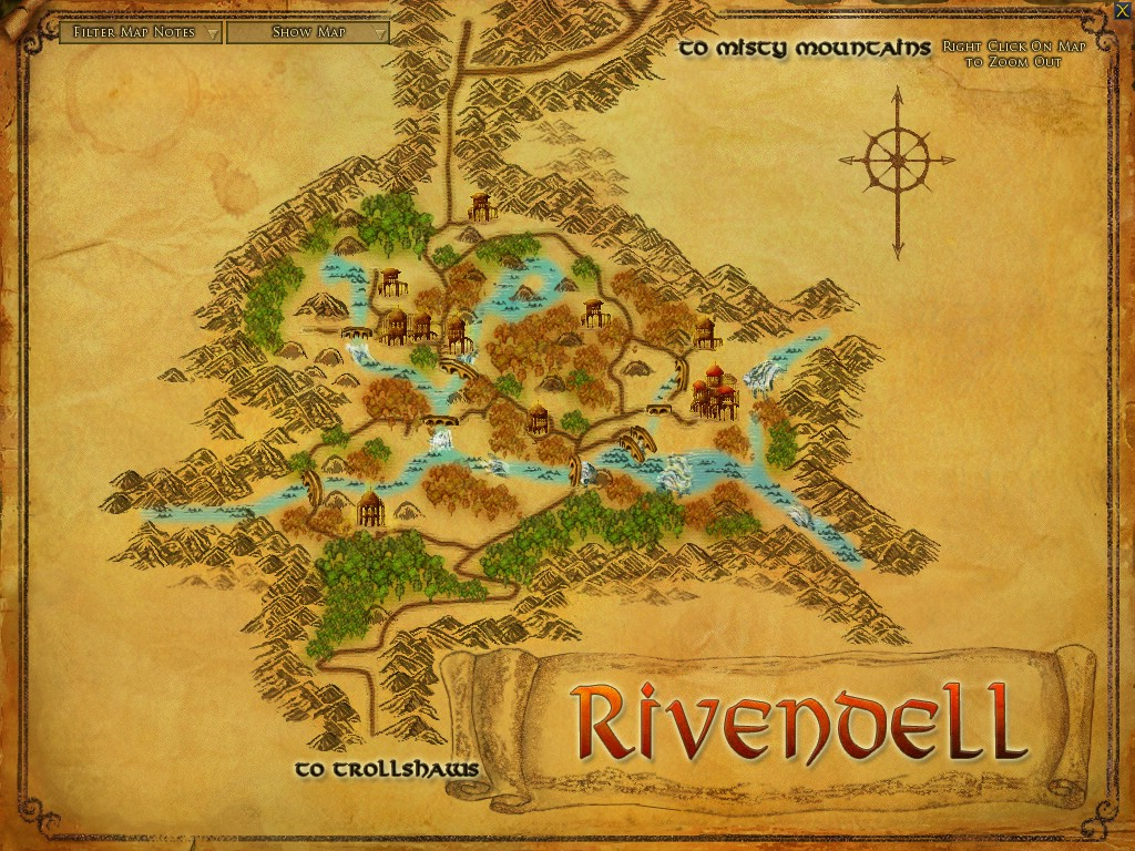 Rivendell :: Zones :: Lord of the Rings Online :: ZAM
