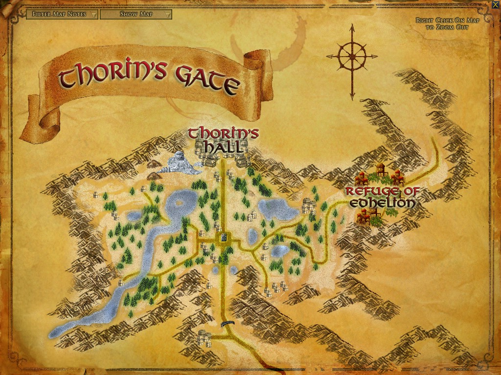 Silver Deep Areas Lord Of The Rings Online Zam