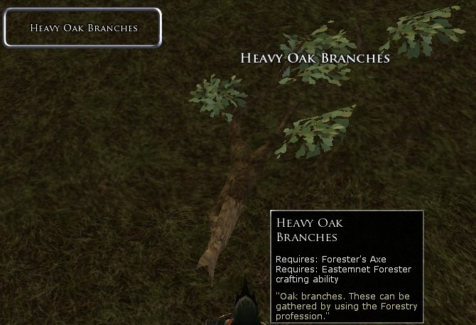 Heavy Oak Branches Screenshot