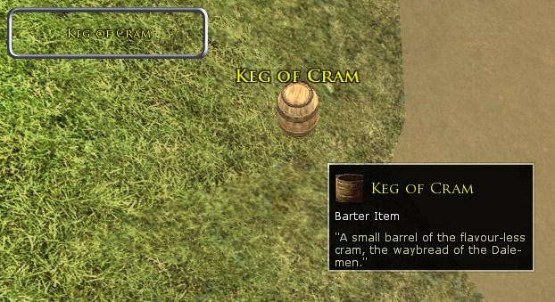 Keg of Cram Screenshot